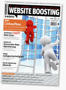 Website Boosting Magazin Ausgabe 1