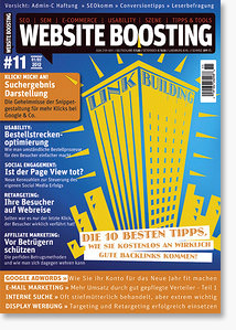 Website Boosting Magazin #11