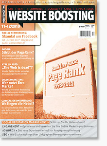 Website Boosting Magazin 11-12/2010