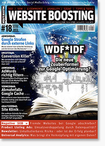Website Boosting #18 - Backlinks, SEO-News, Conversion-Optimierung und mehr