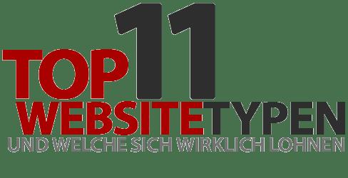 11 Website-Typen und welche sich wirklich lohnen