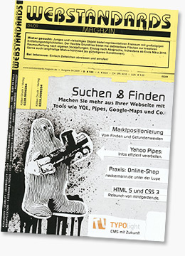 Webstandards Magazin