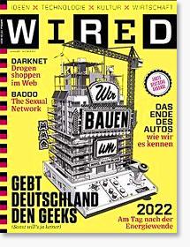 WIRED #1 - Deutschland den Geeks