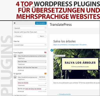 4 Top WordPress Plugins für Übersetzungen und mehrsprachige Websites