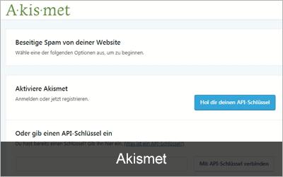 Akismet Anti-Spam - Die 20 beliebtesten WordPress-Plugins 2019