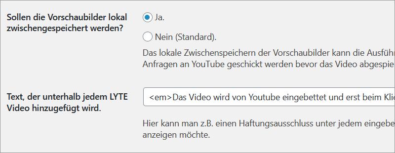 YouTube-Videos datenschutzgerecht einbauen - DSGVO WordPress Video-Plugin