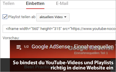So bindest du YouTube-Videos und Playlists richtig in deine Website ein