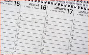 Zeitplanung für Blogger - Tipps und Leitfaden