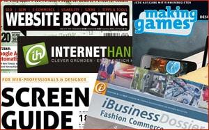 Aktuelle Zeitschriften für Website-Betreiber, Webentwickler ...