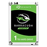 Seagate Barracuda 1 TB interne Desktop Festplatte (8,89 cm (3,5 Zoll), SATA, 64 MB Cache, SATA...