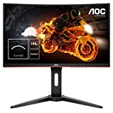 AOC Gaming C27G1 68,6 cm (27 Zoll) Curved Monitor (FHD, HDMI, 1ms, DisplayPort, 144 Hz, 1920 x 1080...