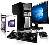Komplett-PC mit 3 Jahren Garantie! Win10 Prof, Intel Quad Core 4x2.41GHz, 8GB RAM, 500GB HDD,...