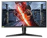 LG 27GL850-B 68,58 cm (27 Zoll) UltragearTM QHD IPS Gaming Monitor (144 Hz, 1ms GTG, G-Sync, DAS...