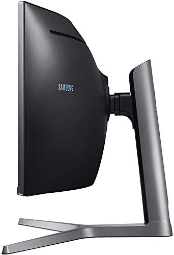 Samsung C49HG90DMU 124,20 cm (49 Zoll) Curved Gaming Monitor (3840 x 1080 Pixel, Ultra Wide 32:9...