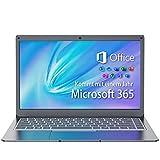 Jumper Laptop 13.3 Zoll FHD Notebook (4GB DDR3 64GB eMMC Microsoft Office 365 Erweiterbarer Speicher...