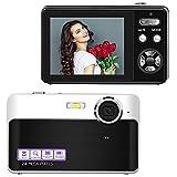 Lincom Digitalkamera Kompaktkamera 24MP Fotoapparat Digitalkamera 2,4 Zoll LCD-Bildschirm Fotokamera...