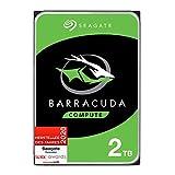 Seagate Barracuda, interne Festplatte 2 TB HDD, 3,5 Zoll, 7200 U/Min, 256 MB Cache, SATA 6 GB/s,...