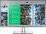 HP EliteDisplay E243 (23,8 Zoll / Full HD) Business Monitor (HDMI, DisplayPort, VGA, USB 3.0,...