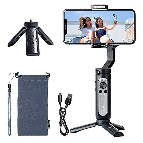 Hohem Gimbal Smarphone,iSteady X Handy Gimbal Stabilisator für iPhone 12 11 Pro Max/Huawei/Samsung,...
