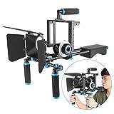 Neewer DSLR Movie Rig Aluminiumlegierung für Digitale Spiegelreflexkameras Canon Nikon Sony (1)...