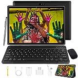 Tablet 10 Zoll Android 9.0 Tablet PC Mit Tastatur 4G LTE SIM, 3 GB RAM + 32 GB ROM,...