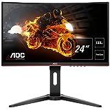 AOC Gaming C24G1 - 24 Zoll FHD Curved Monitor, 144 Hz, 1ms, FreeSync Premium, HDMI, DisplayPort)...