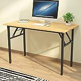 sogesfurniture Schreibtisch Klapptisch, 120x60cm Computertisch Bürotisch Konferenztisch...
