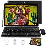 Tablet 10 Zoll Android 10 Tablet PC Mit Tastatur 4G LTE SIM, 3 GB RAM + 32 GB ROM,...