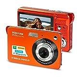 VOXPAN Digitalkamera für Anfänger, 8X Digital Zoom HD Digitalkamera Fotoapparat 21 MP 1080P HD 2,7...