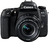 Canon EOS 77D DSLR Digitalkamera (24,2 Megapixel, 7,7 cm (3 Zoll) Display, APS-C CMOS Sensor,...